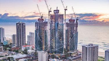 The Jewel development on the Gold Coast.