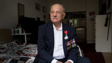 Harold Brabin, 95, who flew with Bomber Command in WWII.