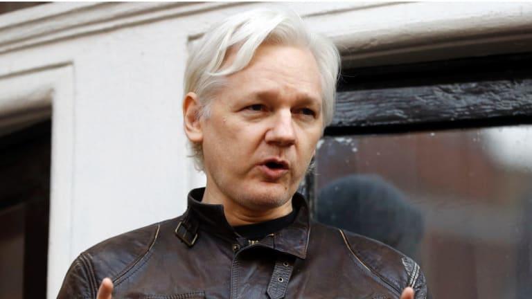 WikiLeaks founder Julian Assange  in 2017.