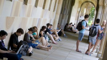 More University of Queensland students are considering health courses in 2019.