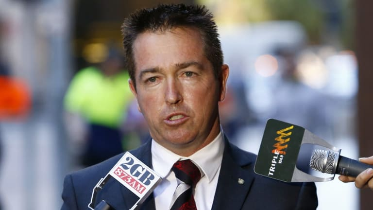 Racing Minister Paul Toole said they listened to the racing industry, but did not agree with most of their arguments.