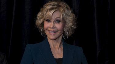Jane Fonda in Australia.