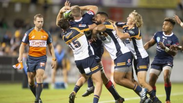 The Brumbies were beaten by the Rebels in round one.