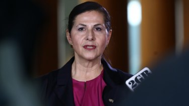Minister for International Development and the Pacific Concetta Fierravanti-Wells.