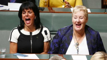 Victorian Liberal MP Julia Banks (left) will avoid a preselection contest, unlike her NSW colleague Ann Sudmalis.