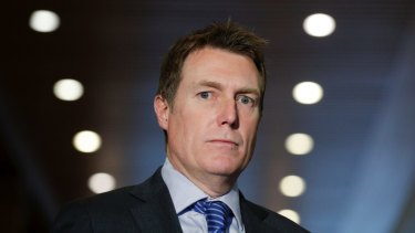 Attorney-General Christian Porter says he had limited information when claiming journalists were not the target of police investigations.