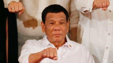 Facebook trained Philippine President Rodrigo Duterte.