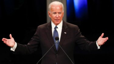Former US vice-president Joe Biden is being defended vigorously as simply a man of his day.