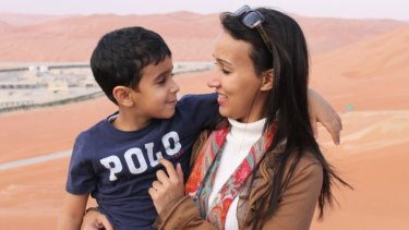 Manal al-Sharif fears if she returns to Saudi Arabia to see her 12-year-old son Aboudi she may be imprisoned.
