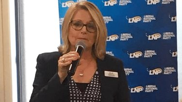 New LNP Queensland party president Cynthia Hardy.