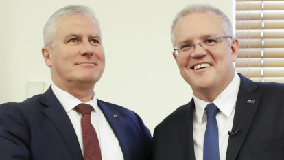 'Wind at our backs': Morrison warns against complacency in party room meeting
