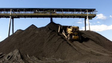 The Berejiklian government sees a bright future for the coal export market.