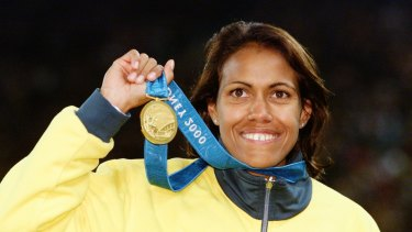 Patrick Johnson says one of the goals of the Indigenous Advisory Committee will be to find the next Cathy Freeman.