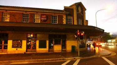 The men were drinking at the Nelson Hotel in Bondi Junction before their altercation.