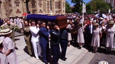 The funeral of Dame Roma Mitchell in Adelaide