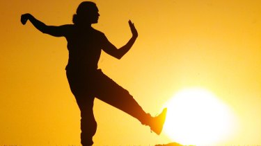 Tai chi is about finding a firm foundation to allow you to move forward with strength and confidence.