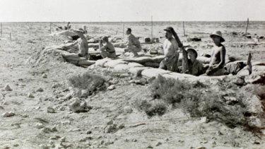 Australian troops in Tobruk 1941.