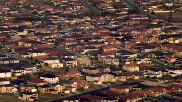 Sydney's western suburbs. Sydney and Melbourne house most of Australia's migrants.
