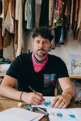 Designer Joshua Scacheri is focusing on sustainability with his new label Love Hero.