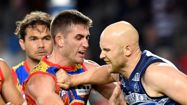 Ablett has shown a harder edge this season.
