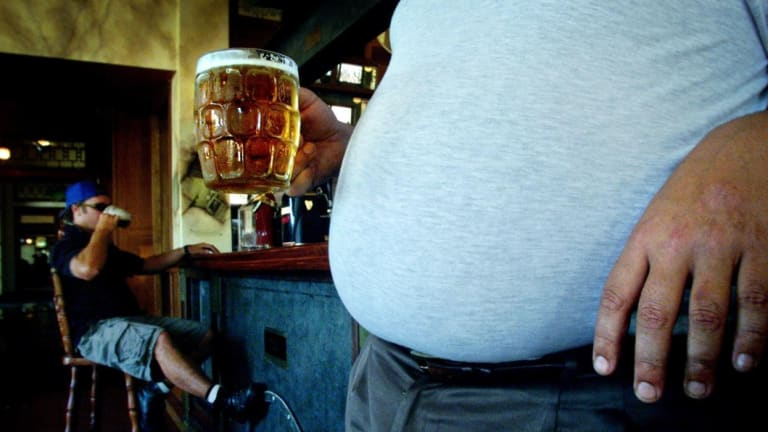Nearly two thirds of West Australians are obese and one in five drink a dangerous level of alcohol.