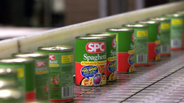 SPC's Shepparton factory employs around 500 workers.