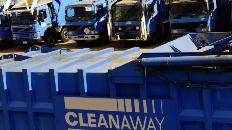 Cleanaway has brought forward investments in waste-sorting following tough new import rules in China.