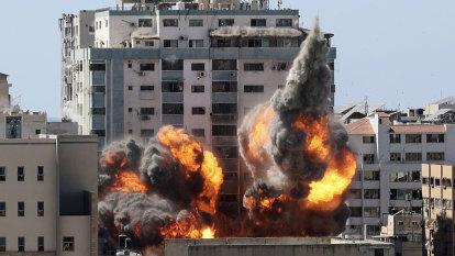 Gaza attack on media offices will deepen fog of war
