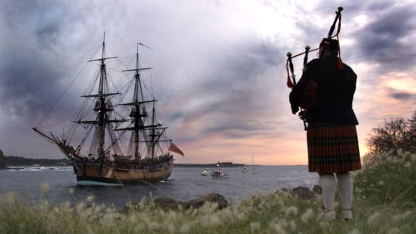 The long, long silence of James Cook's ship Endeavour
