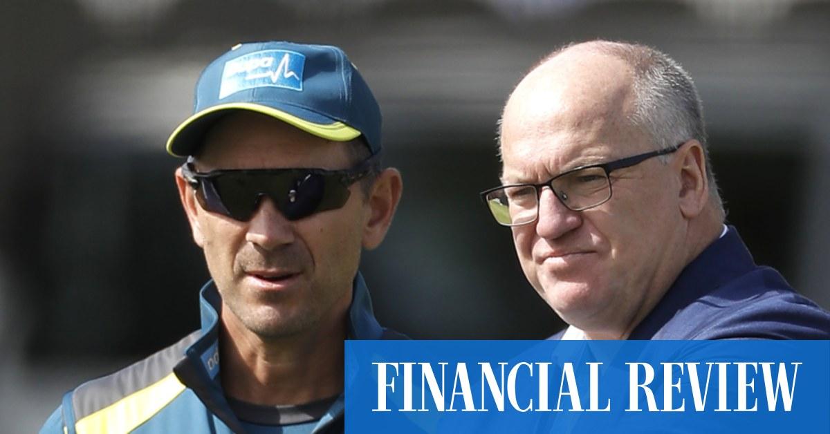 Good riddance to Cricket Australia chairman Earl Eddings – The Australian Financial Review