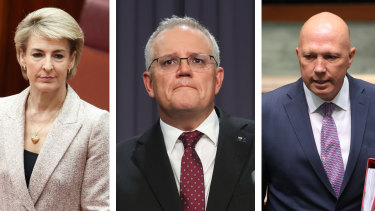 Scott Morrison has given Michaelia Cash and Peter Dutton new portfolios in a cabinet reshuffle.