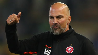Markus Babbel was not a happy man after Western Sydney's fourth loss in a row.