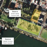 A future Aboriginal cultural centre could be built on prime real estate fronting the Swan River where a carpark currently sits.