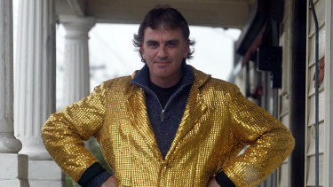 Joffa in his gold jacket in 2003.