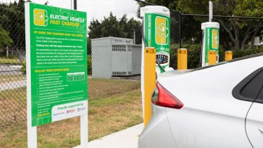 Queensland's government has installed an 'electric superhighway'.