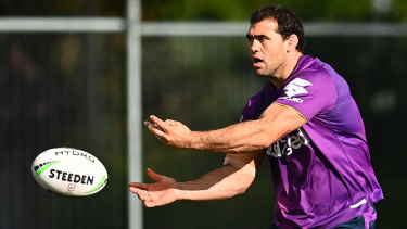 Dale Finucane would be a major boost for the Storm if he is able to overcome a calf injury.