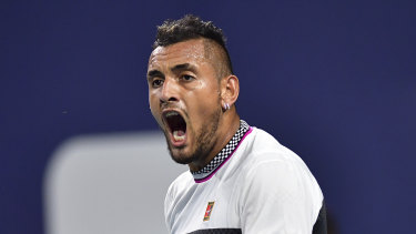 Vocal: Nick Kyrgios hasn't held back his feelings on some of his opponents.