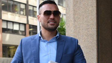 Salim Mehajer outside the Federal Court in April.
