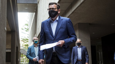 Premier Daniel Andrews has announced that masks are no longer mandatory outdoors.