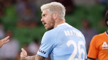 Luke Brattan looks set for a switch to either Sydney FC or Melbourne Victory.