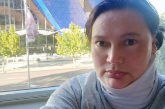 Arsiyanti Ardie fears for her health in hotel quarantine at the Four Points in Perth.