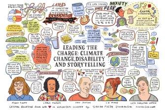 Sarah Firth's graphic illustration