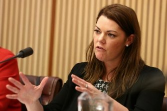 Pushed for inquiry: Senator Sarah Hanson-Young.