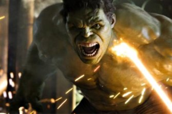 Mark Ruffalo as the Hulk in the Avengers.