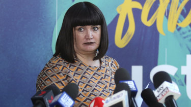Raelene Castle's Rugby Australia has copped a body blow with Israel Folau's legal action.