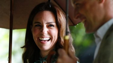Britain's Prince William and his wife Kate, Duchess of Cambridge, a target for trolls.