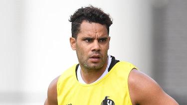 Daniel Wells is back in Collingwood's senior side.