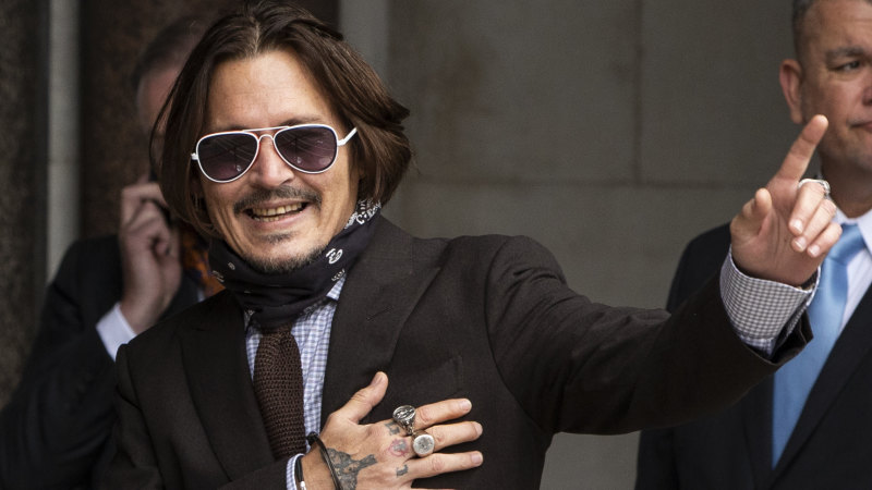 Johnny Depp's severed fingertip found in Australian rental property court told – Sydney Morning Herald