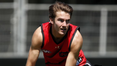 Young Bomber Zach Reid will miss the rest of the season with a back injury.