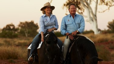 Andrew and Nicola Forrest are now the proud owners of boot brand RM Williams.